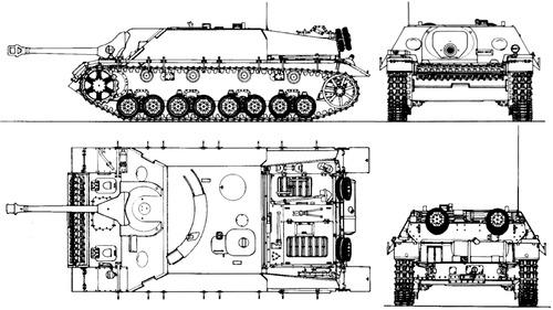 Sd. Kfz. 162 Jagdpanzer IV-70