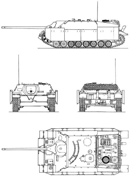 Sd.Kfz. 162 Jagdpanzer IV L-70 7.5cm