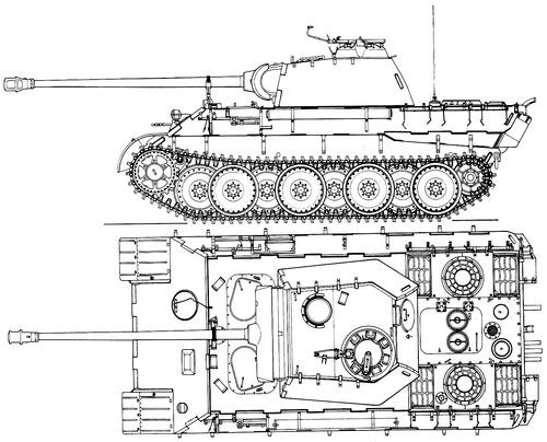 Sd. Kfz. 171 Pz.Kpfw.V Ausf.A Panther