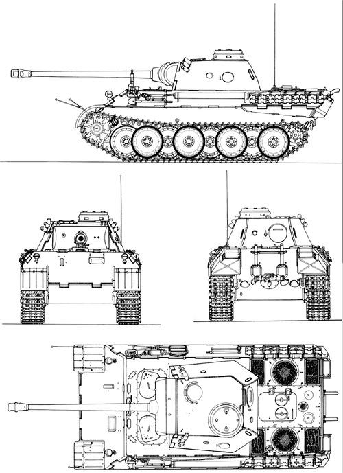 Sd. Kfz. 171 Pz.Kpfw.V Ausf.D Panther