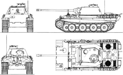 Sd. Kfz. 171 Pz.Kpfw.V Ausf.G Panther