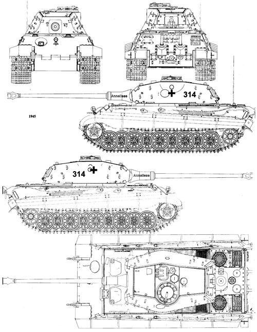 Sd. Kfz. 182 Pz.Kpfw.VI Ausf.B King Tiger