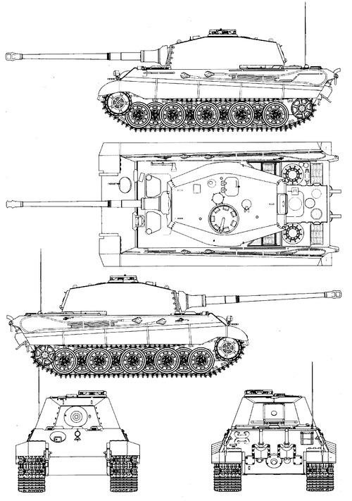 Sd.Kfz . 182 Pz.Kpfw.VI Ausf.B King Tiger (Henschel Turret).