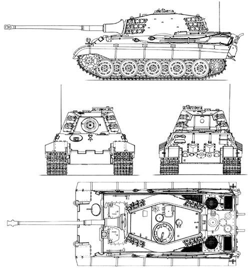 Sd.Kfz. 182 Pz.Kpfw.VI Ausf.B King Tiger (Henschel Turret)