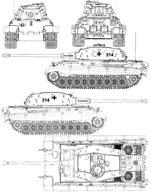 Sd. Kfz. 182 Pz.Kpfw.VI Ausf.B King Tiger (Henschel Turret)