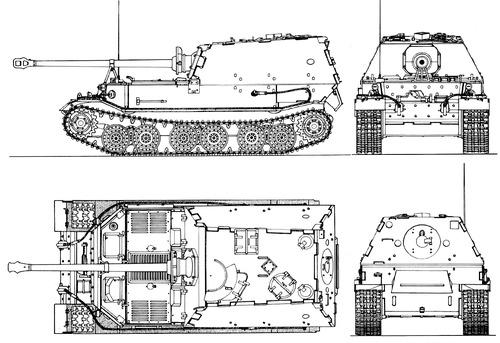 Sd. Kfz. 184 Ferdinand 8.8cm Panzerjager Tiger (P)