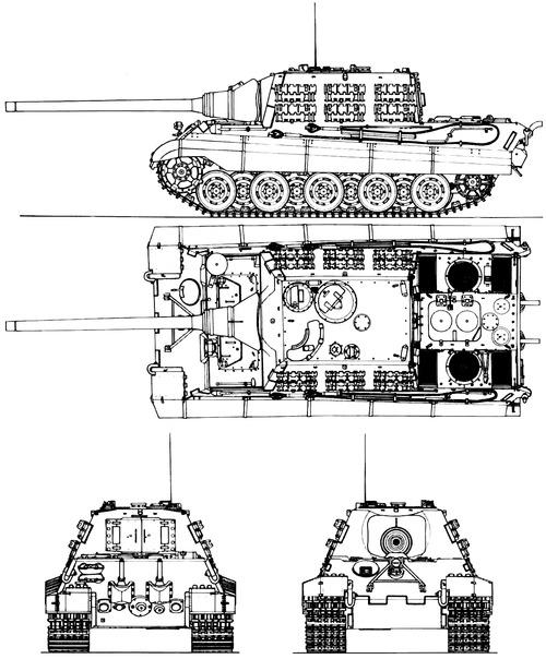 Sd. Kfz. 185 Jagdtiger 88 mm L71