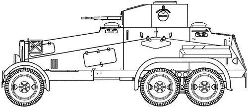 Sd. Kfz. 231 Schwerer Panzerspahwagen 6-Rad (DB G-3)