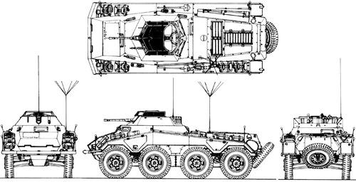 Sd. Kfz. 234-1 Puma 2cm Schwerer Panzerspahwagen 8-Rad