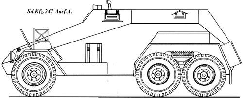 Sd. Kfz. 247 Ausf.A