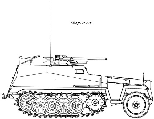 Sd. Kfz. 250-10