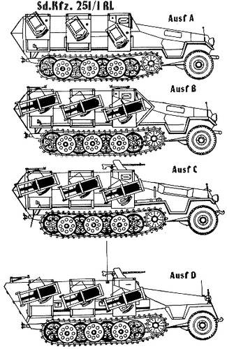 Sd. Kfz. 251-1 RL