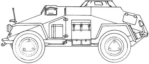 Sd. Kfz. 260 Ausf.A Kleiner Panzerfunkwagen