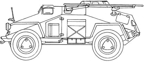 Sd. Kfz. 261 Ausf.A Kleiner Panzerfunkwagen