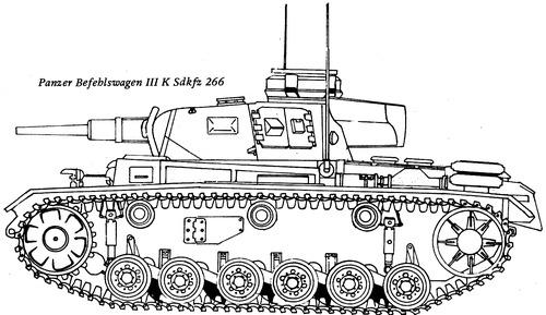 Sd. Kfz. 266 Panzerbefehlswagen III (Pz.Bef.Wg.III)