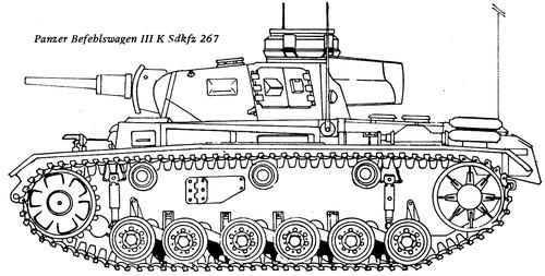 Sd. Kfz. 267 Panzerbefehlswagen III (Pz.Bef.Wg.III)