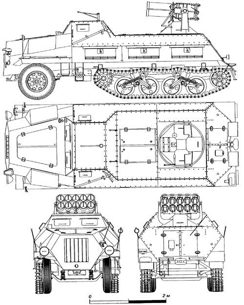 Sd.Kfz. 41 15cm Panzerwerfer 42 auf Maultier