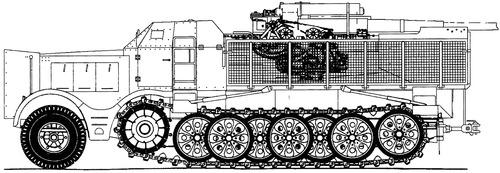 Sd. Kfz. 9 8.8cm Flak 18