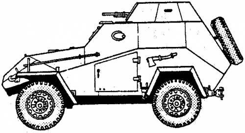 BA64B  Armoured Car