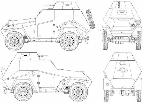 BA-64 Armored Car