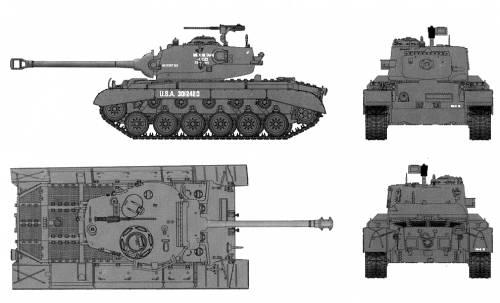 M26E2 Pershing