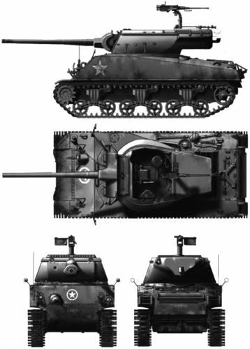 M36B1 90mm GMC
