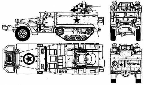M3 Half-Truck M16 AA