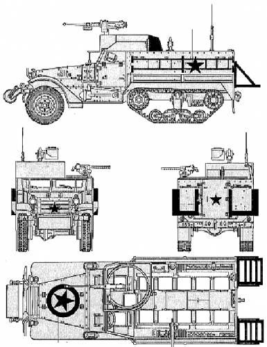 M3A2 Half Track APC