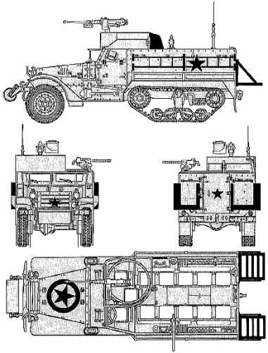 M3A2 Half-Truck