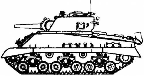 M4 (105) HVSS Sherman (1945)