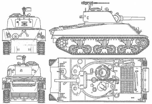 M4 A3 Sherman 105mm Howitzer