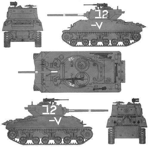 M4A1 (76)W Sherman
