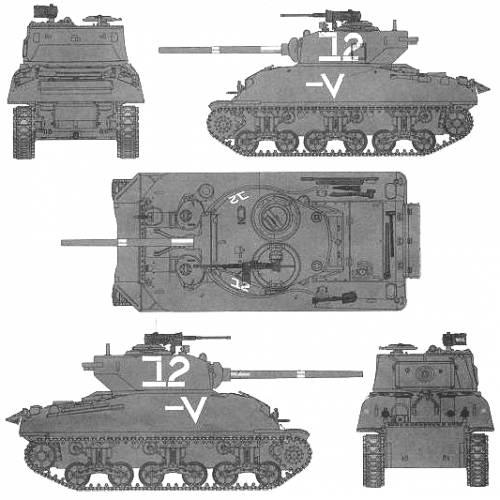 M4A1 (76)W Sherman IDF