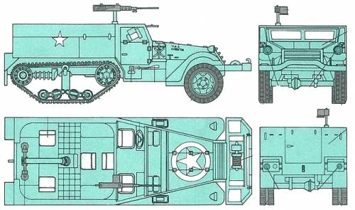 M4A1 Halftrack 81mm SPM