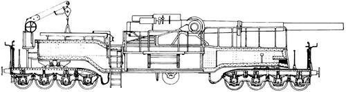 20.3cm Railway Artillery