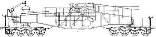24cm Railway Artillery Theodor Bruno