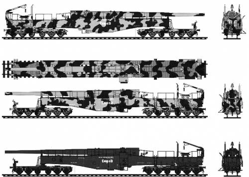 280mm Kanone 5 (E) Leopold