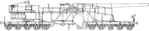 28cm L40 Lange Bruno Railroad Gun
