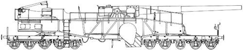 28cm Railway Artillery Lange Bruno