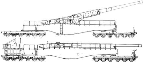 28cm Railway Artillery Neue Bruno