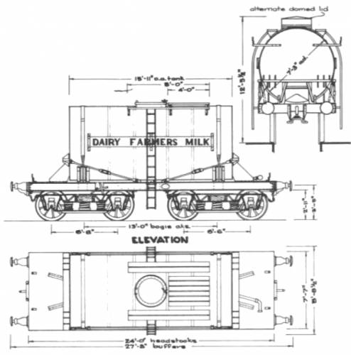 3000 Gal Bogie Tank