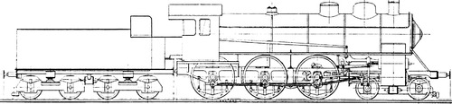 4-6-0 Locomotive