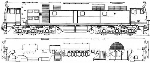 A.E. Goodwin Ltd 442 Class Diesel - Electric