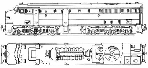 A.E. Goodwin Ltd 44 Class Diesel - Electric