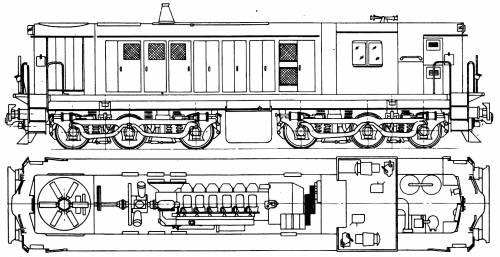 A.E. Goodwin Ltd 48 Class Diesel - Electric