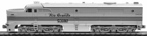 ALCO PA-1 Denver & Rio Grande Western