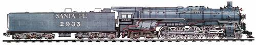 AT&SF 2900 Class 4-8-4 (1944)