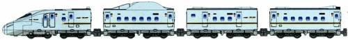 B Train Shorty Series N700 Sanyo-Kyushu Shinkansen