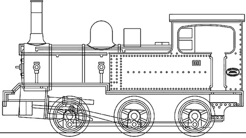 Befu Railway Steam Locomotive