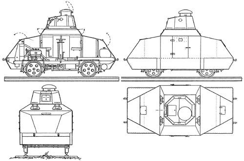 Billard Armored Train